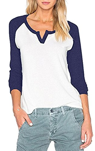 Navy Blue Baseball Shirt - 3