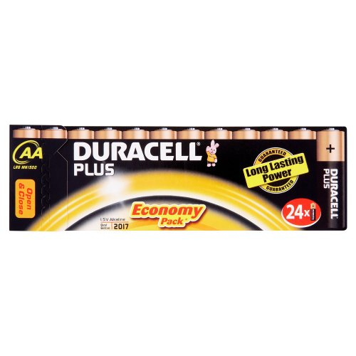 Duracell Coppertop Aa Batteries 24 Pk