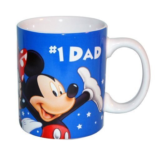Disney Fab 5 #1 Dad 11oz Ceramic Mug