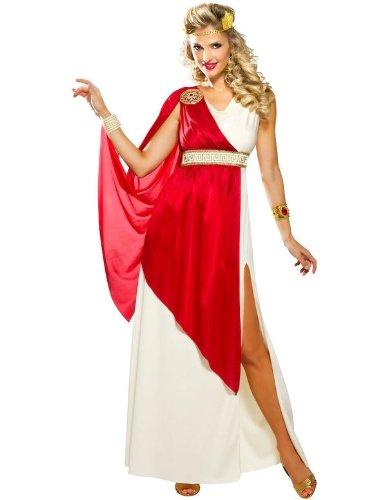 Goddessey Adult Roman Lady Caesar Costume, (Lady Caesar Costumes)