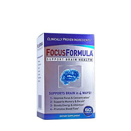 Prevention Focus Formula Brain Enhancement Supplement Caplets, 60 count (Windmill Health Formula)