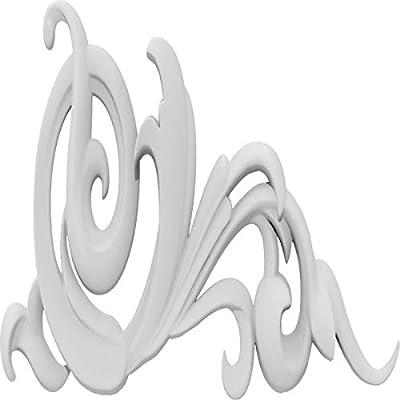 Ekena Millwork APLC015X015KBYUF-R Applique White