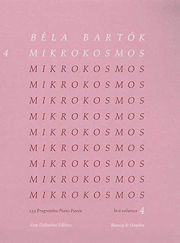 Mikrokosmos Volume 4 (Pink) (Mikrokosmos (Boosey & Hawkes)) ()
