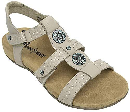 Minnetonka Womens Leather Meryl Sandal 8 D ()