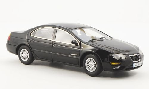 Chrysler 300M, black, 2002, Model Car, Ready-made, Neo Limited 300 1:43