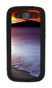 Spectacular sunrise Custom Design TPU Samsung Galaxy S3 Case and Cover - Black