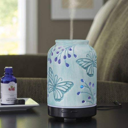 Better Homes and Gardens Essential Oil Diffuser, Tranquil Butterfly