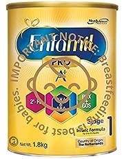 Enfamil Pro A+ Stage 1 PWD Infant Milk Formula, 0-12 months, 1.8kg