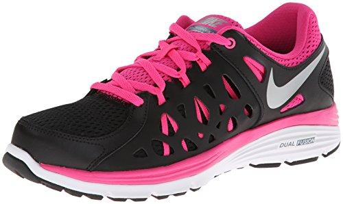 c186cbb669c7a Nike Dual Fusion Run 2 Womens Style  599564-006 Size  10 black mtllc  silver-armry slt-pink - Buy Online in Kuwait.