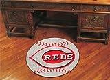 Fanmats Cincinnati Reds Baseball Mat - Cincinnati Reds One Size