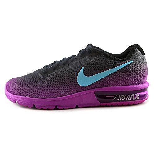 Sequent Negro de Bl Black Vlt Running WMNS Gmm Air Gry hypr Femme drk Chaussures Max Nike Noir wtzqAB