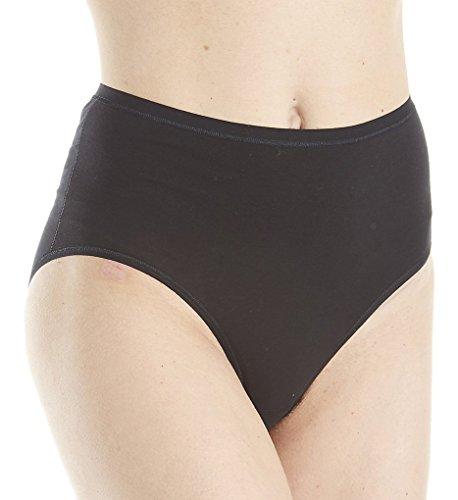 Calida Comfort High Waist Brief Panty (22526) M/Black