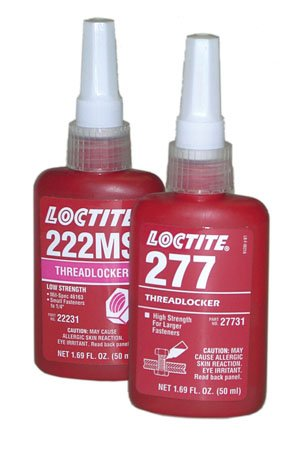 250ml Bottle, High Strength (Red) for fasteners up to 1'', LOCTITE Liquid Threadlocker (1 Each) by Loctite