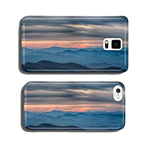 Blue Ridge Parkway National Park Sunset Scenic Mountains cell phone cover case Samsung S6