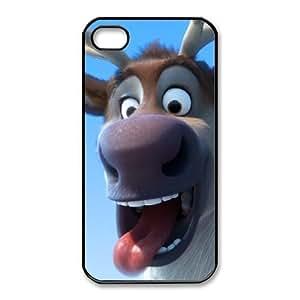 iphone4 4s Phone Case Black Frozen Sven CYL8673952
