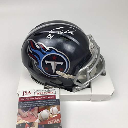 Autographed/Signed Corey Davis Tennessee Titans Football Mini ()