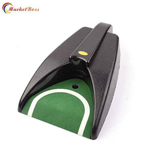 MarketBoss Golf Automatic Putting Cup Golf Putting Hole Auto Return Ball for Indoor Outdoor Golf Practice ()