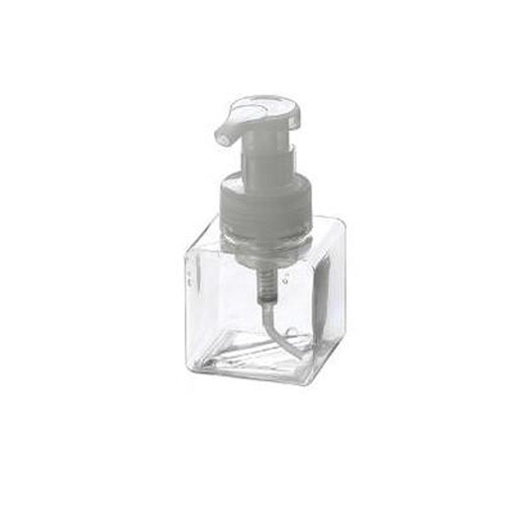 Battletter Travel Push Shampoo Soap Washing Liquid Bottle (Transparent)
