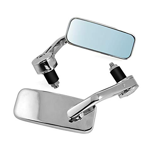 Craftride Bar end mirror LS1 for Honda F6C// Valkyrie Shadow 750 Black Spirit chrome