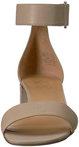 Franco Sarto Women's Rosalina Heeled Sandal, Platino Bisque