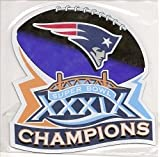 New England Patriots Super Bowl 39 Champions Magnet