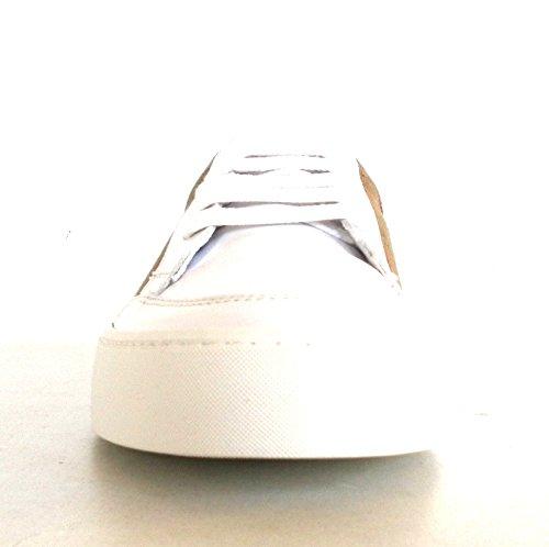 Burberry Donne Della Scarpa Da Tennis Bianche Bianco