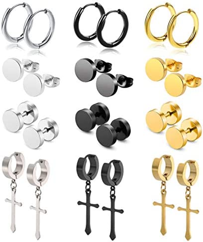 WAINIS 12Pairs Earrings Stainless Earring product image