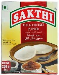 Chilli Chutney (Sakthi Chilli Chutney Powder 7 Oz, 200 Gm (Free Shipping))