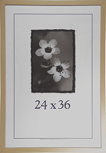 (24x36 Wood Picture Frame (American Maple) - Made in the USA)