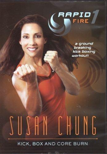 Susan Chung's RapidFire Kick, Box and Core Burn (Kick Dvds All Boxing Cardio)