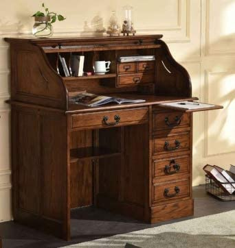 Small Home Office or Student Roll Top Desk