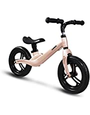 COEWSKE 12 Zoll Balance Fahrrad Magnesiumlegierung Kinder Laufrad Lernlaufrad für Jungen und Mädchen ab 2 bis 4 Jahre