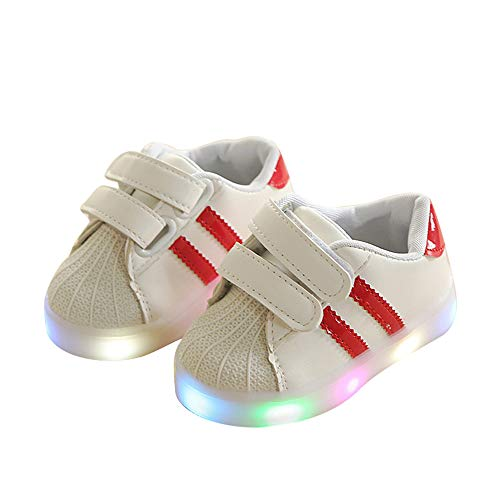 Zarachielly LED Light up Shoes Flashing Sneakers Kids Boys Girls