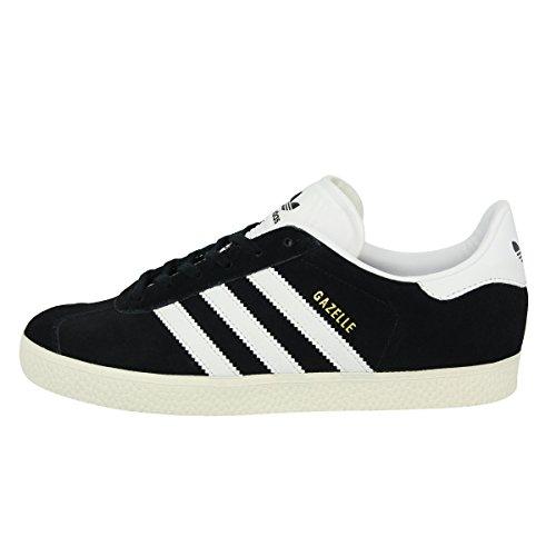 adidas Originals GAZELLE J Schwarz Wildleder Unisex Sneakers Schuhe Neu