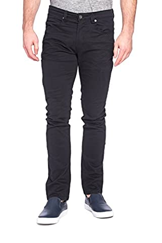 paperdenim&cloth Mens Designer 5 Pocket Slim Stretch Chino Twill Pants with Cell Pocket - 33/30 - New Mens Southern Thread