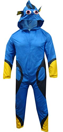 Onesies For Tall Men (Disney Men's Finding Dory Uniform Union Suit, Blue,)