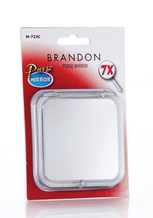 Brandon 10X Compact Travel Mirror - #M724C