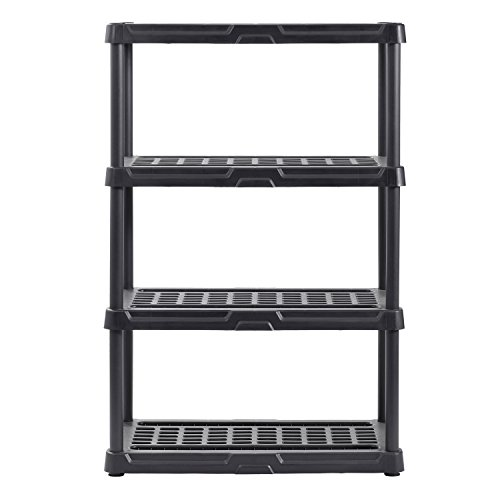 - Muscle Rack PS362456-4B Plastic Shelving, 36