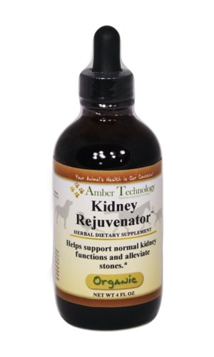Kidney Rejuvenator 4oz - all-natural dietary supplement formulated to help rid toxins from the blood, clean the urinary tract system, promote proper kidney function and help reduce inflammation.