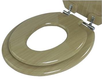 family toilet seat wood. Family Toilet Seat in Wood Finish  Amazon co uk Toys Games