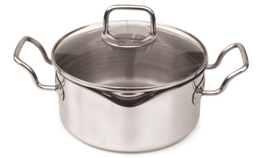 Norpro KRONA 2.5 Quart Vented Pot with Straining Lid
