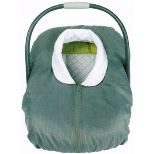 Over the Top Infant Carrier Cover- Grey (Grey)