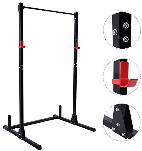 K&A Company Strength Power Lifting Rack 300 lbs Capacity 45'' x 50'' x 83'' New Gym Exercise Fitness by K&A Company