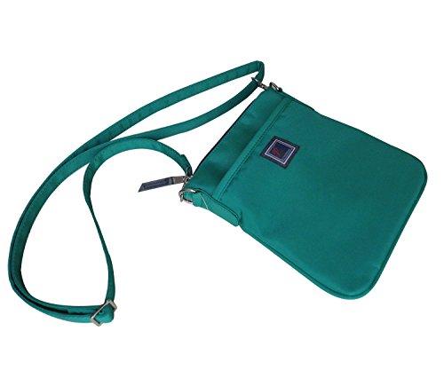 Ipad Mini Crossbody Bag(Beaker Hipster),messenger Bag,sports bag (iPad mini, Emerald green)