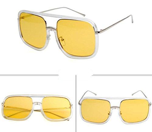 MSNHMU Amarillo Sol Libre Deportes Accesorios De Al Aire Verano Fiesta De Gafas Mujer Gafas Sol De SWTSPHwrZq