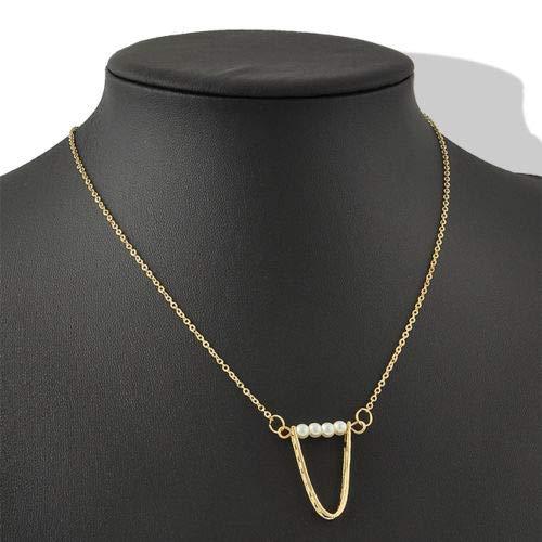 (Nadeejewelry Napafashion Infinity Woman Charm U Pearls Bib Statement Chain Chunky Celebrity Necklace Hot)
