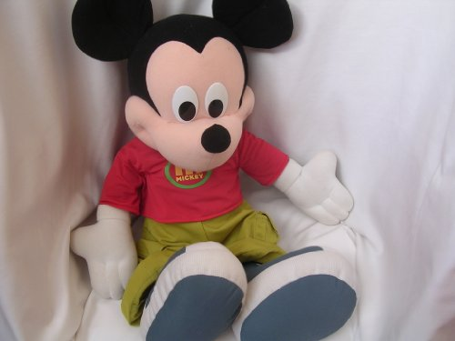 Mickey Mouse Jumbo 27 Plush Toy Doll 2000 Collectible