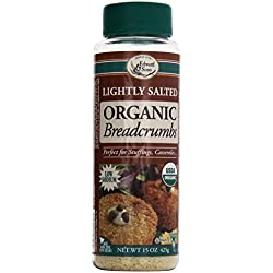 Edward & Sons Organic Bread Crumbs, Light Salt, 15 oz