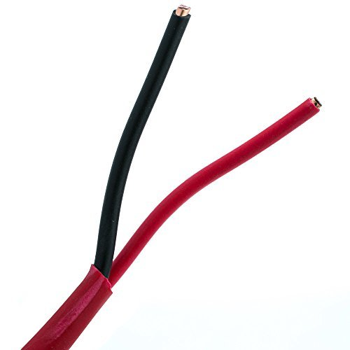 SkuBros Fire Alarm / Security Cable, Red, 14/2 (14 AWG 2 ...