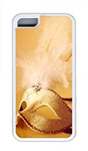 Apple iPhone 5C Case and Cover - Non-Mainstream Face Design Cool TPU Case Cover Protector For iPhone 5C - White